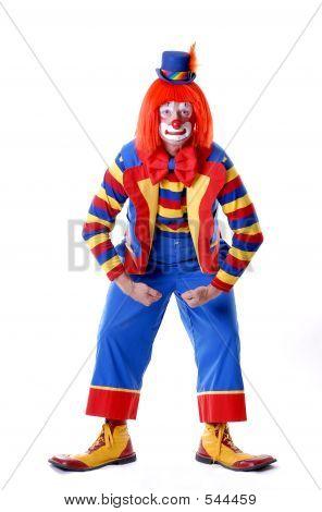 Muscle Man Clown