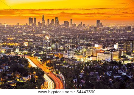 Downtown Los Angeles, California.