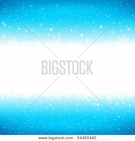 winter blue background with textarea