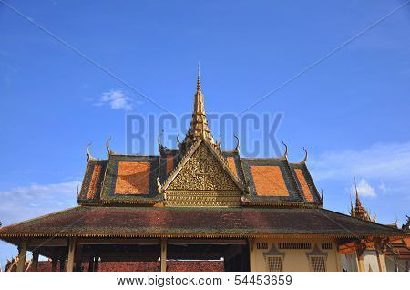 cambodian grand palace roof