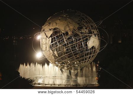New York World's Fair Unisphere in Flushing Meadows Park