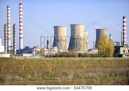 Petrochemical Plant Landscape