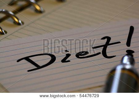 new years resolution - diet!