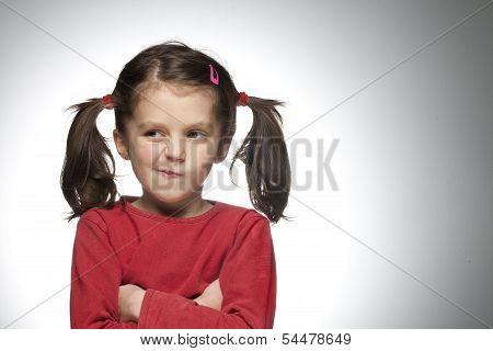cute angry girl