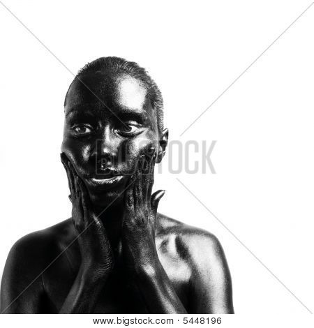 Made Up Black Woman