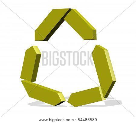 Recycle  Logo Business Illustration Idea