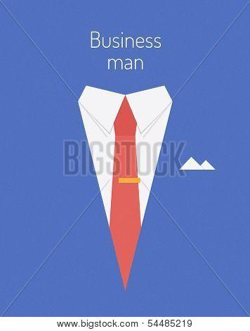 Business Leader Concept Illustration
