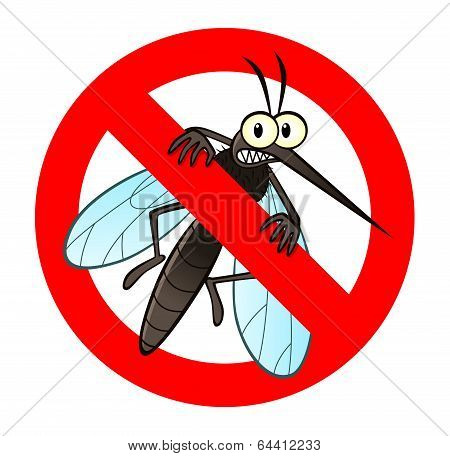 Anti Mosquito Sign