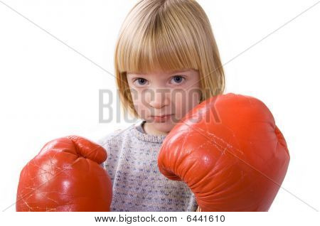 Child Boxing Fighter Gloves