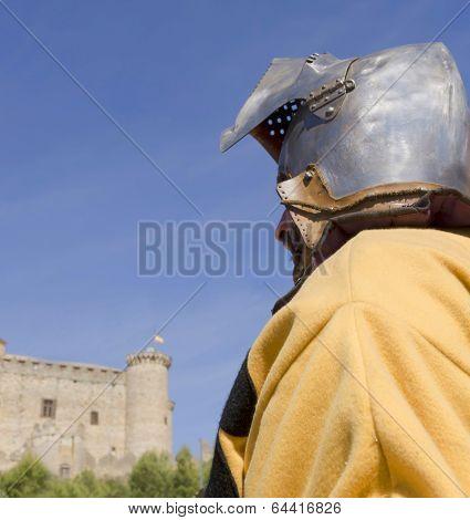 Knight With Helmet