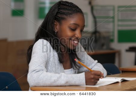Student Working
