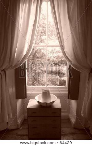 Washing Bowl At Window
