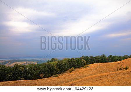 Danube valley in Romania
