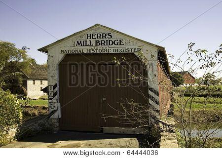 Herrs Mill Covered Bridge