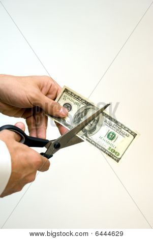 cutting up the money