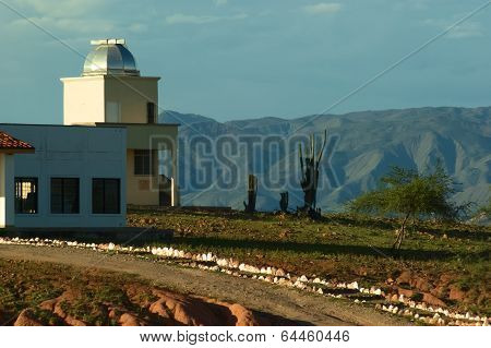Observatory in the Desert of Tatacoa in Colombia