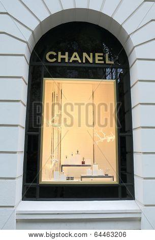 Chanel display