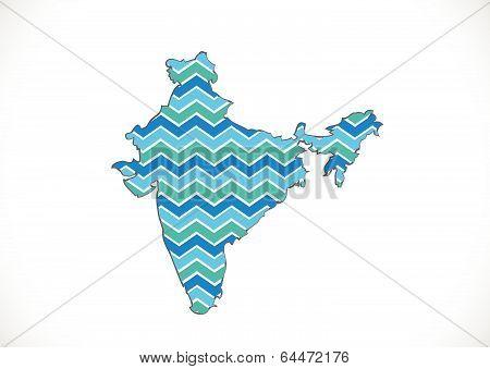 Map of India idea design
