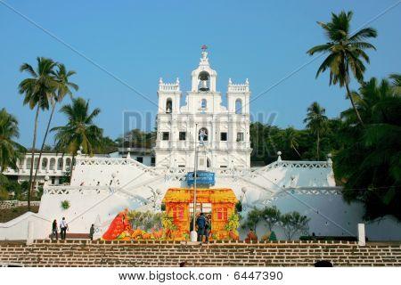 Mae De Deus Church (Saligao, Goa)