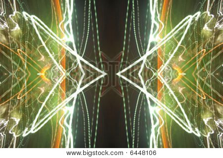 Abstract Electricity Storm