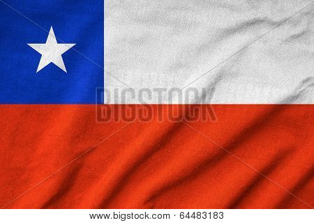 Ruffled Chile Flag