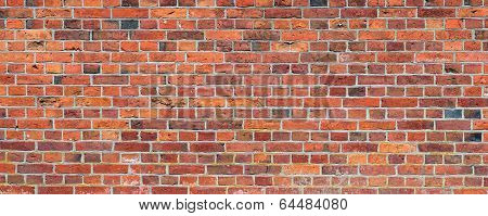Background Texture Of A Old Brick Wall