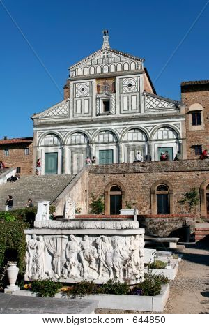 Florence,Tuscany,Italy - San Miniato Al Monte And Cemetery