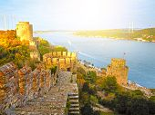 Fortress Rumelihisar. Istanbul, Turkey. HDR poster