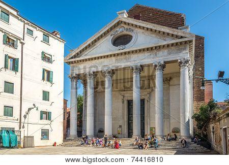 Church San Nicolo Da Tolentino In Venice