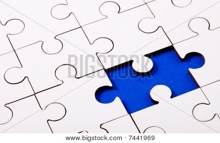 Jigsaw Blue Underlay