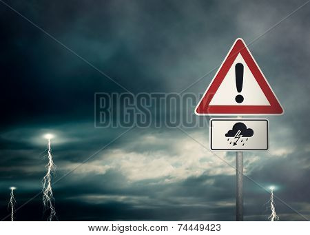 Caution - Thunderstorms Ahead
