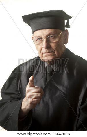 Senior Judge Looking Harshly At You