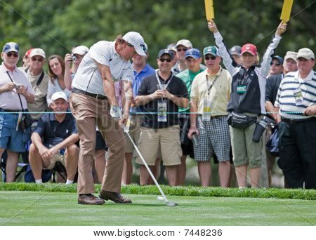Phil Mickelson at the 2009 US Open