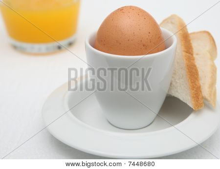 Egg Toast Breakfast