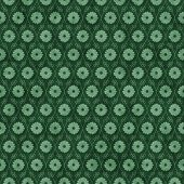 Green Flower Repeat Pattern Background that is seamless and repeats poster