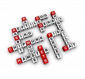 home pets (buzzword cubes 3D hires series) poster