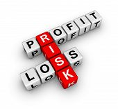 profit loss and risk (buzzword crossword series) poster