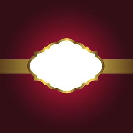 Background-Burgandy & Gold