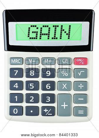 Calculator With Gain
