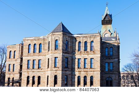 Old Courthouse In Galesburg, Knox County