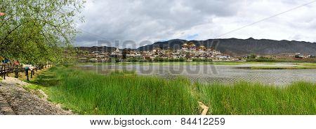 Songzanlin Buddhist Monastery in Zhongdian, Shangri-La, Yunnan, China