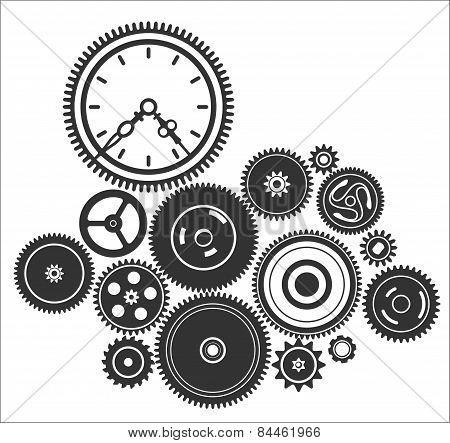 Gearwheel Mechanism Background