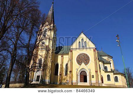 Church At Marian Mount In Levoca, Slovakia