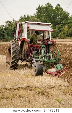 Ploughing Championship Competitor