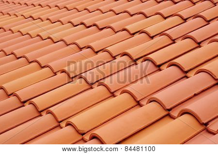 New Roof With Ceramic Tiles