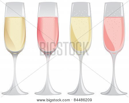 Sparkling Wine Glass