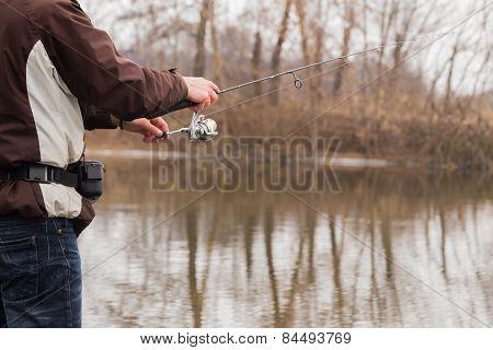 Winter spinning. Fishing in winter