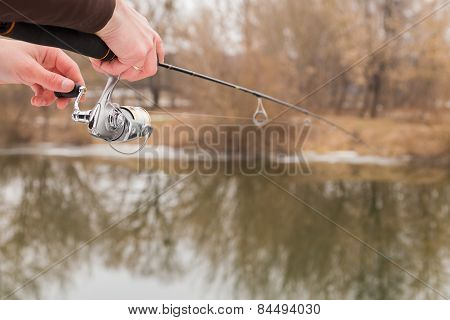 Winter spinning. Fishing in winter