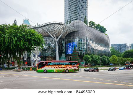 Ion Orchard Shopping Mall And Residences In Singapore