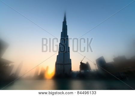 Burj Khalifa Is The Tallest Skyscraper In The World